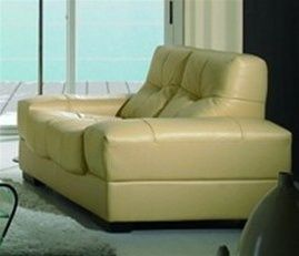 Cream color italian leather contemporary loveseat prime classic design modern italian and Modern sofas to go with any type of decor