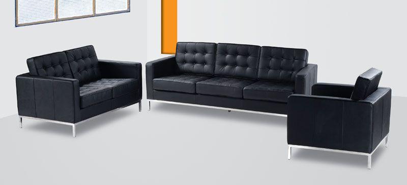 Antalya Contemporary Leather Sofa Prime Classic Design