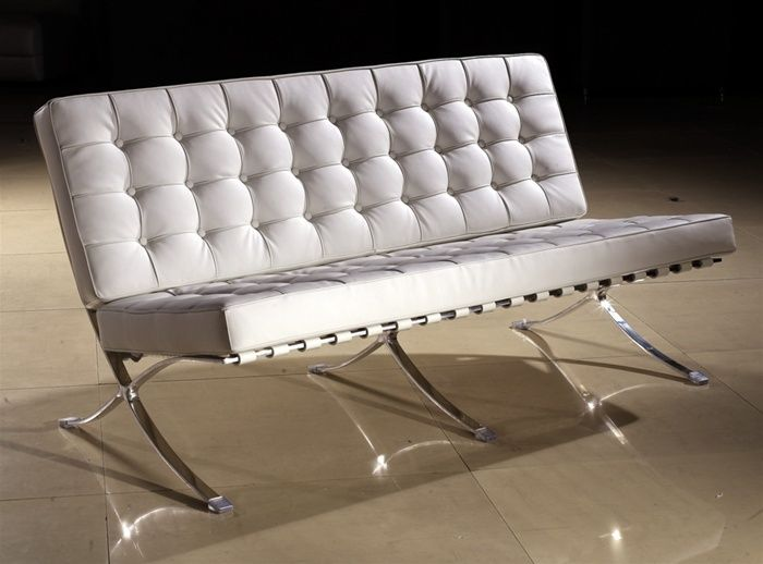 White italian leather sofa with extra padded seating prime classic design modern italian and - Factory sofa sevilla ...