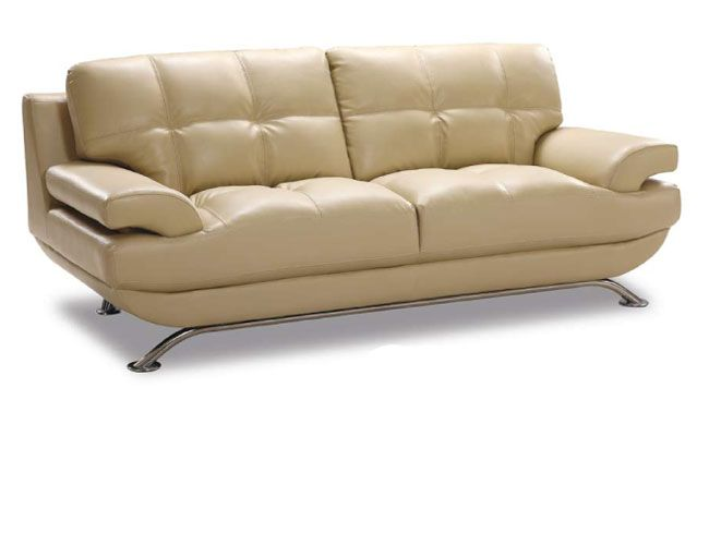 Sleek sofas sleek leather sofas houzz thesofa Sleek sofa set designs