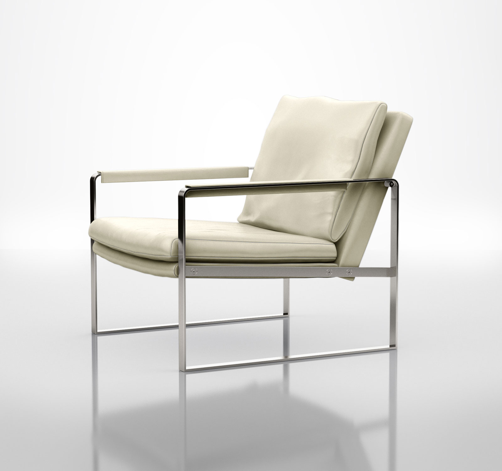 contemporary silver and leather accent lounge armchair las vegas  - contemporary silver and leather accent lounge armchair las vegas nevadamlchar