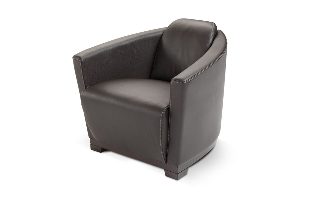 Hotel Contemporary Italian Leather Chair San Antonio Texas