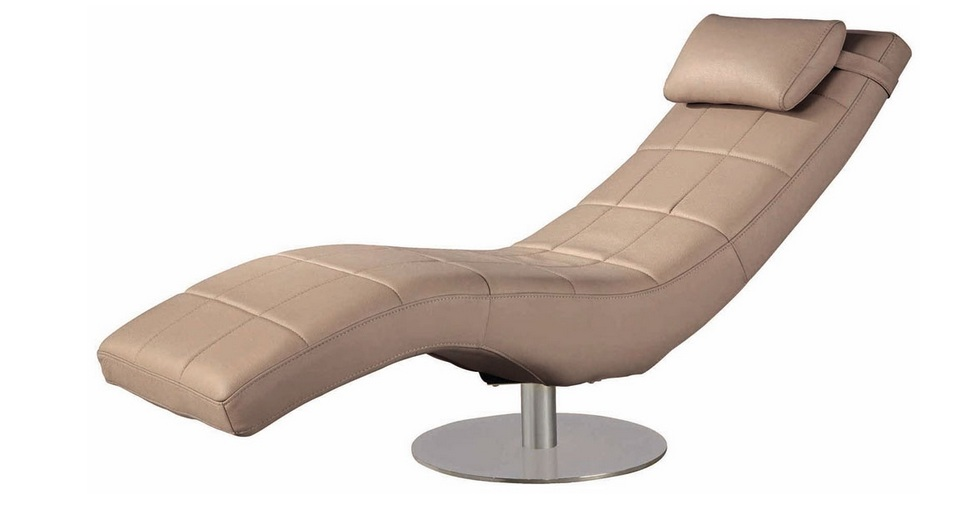Navona italian leather lounge chair detroit michigan nsnavona - Chaise classique design ...