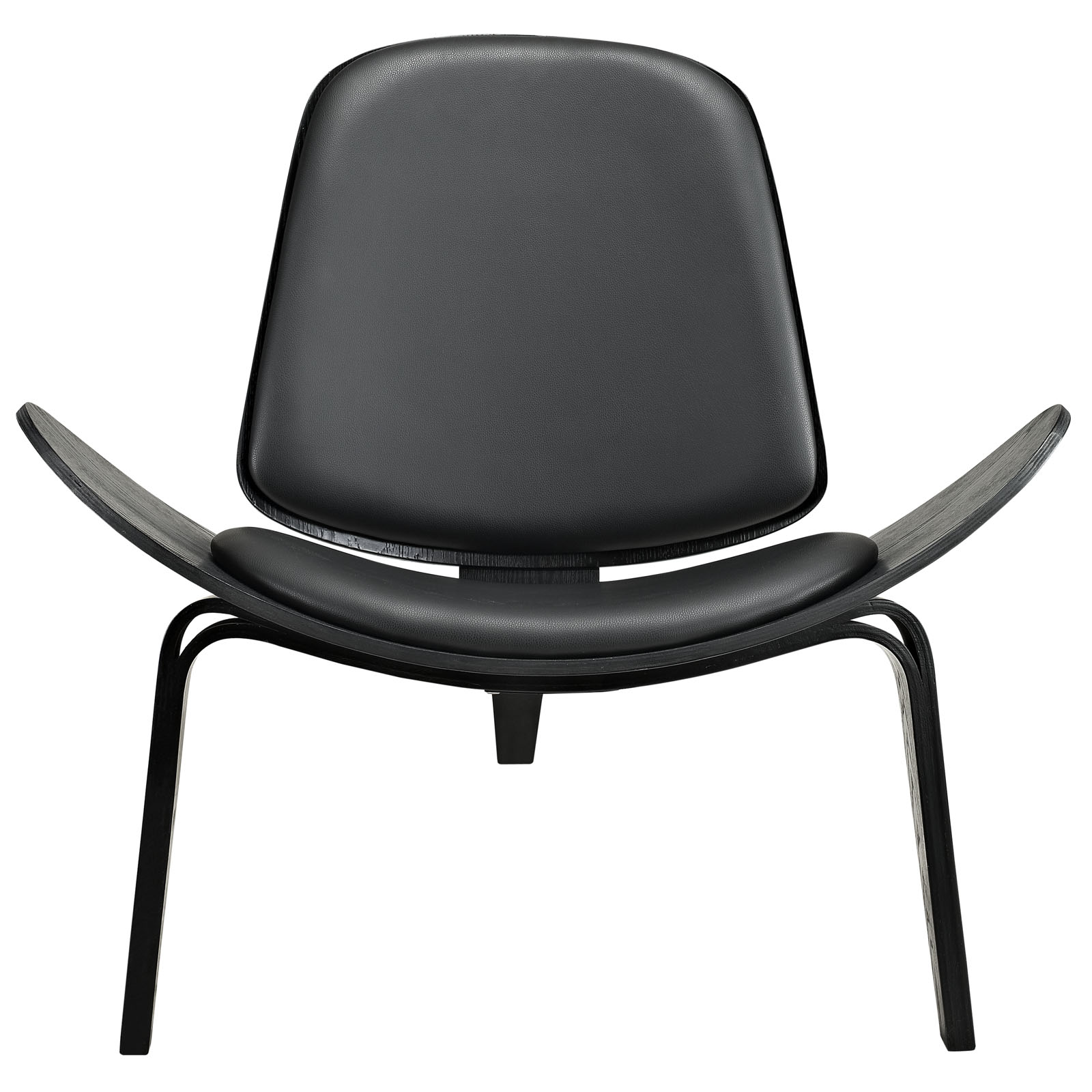 Contemporary Styled Arched Lounge Chair with Many Color Options