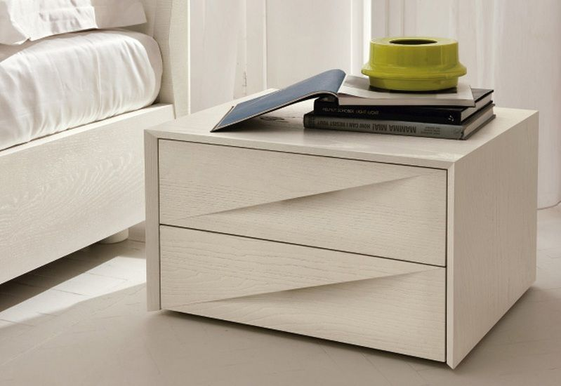 Elegant Italian Contemporary Night Stand Shop Modern