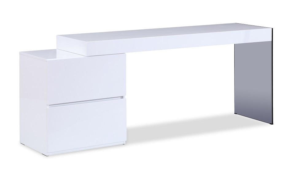 modern white desk with drawers extension jmmia