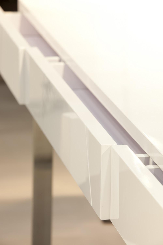 sharp oak brown table office modern dsc desk end white