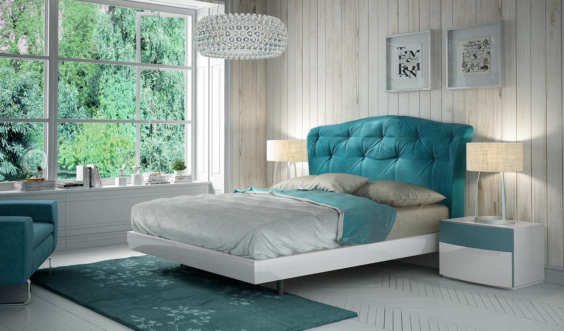 Picture of: Fabric Upholstered Unique Quality Elite Platform Bed Phoenix Arizona Fenicia Spain Composition 5