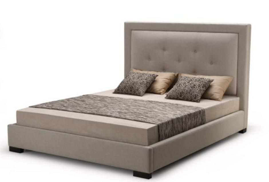 Stylish Leather Elite Platform Bed With Extra Storage Reno