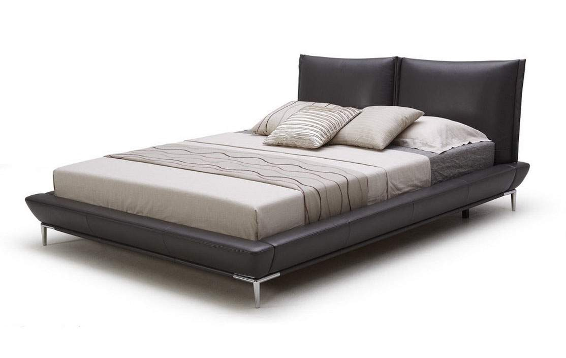 Exclusive leather luxury platform bed corpus christi texas for Exclusive beds
