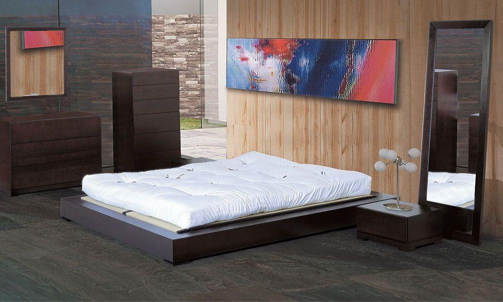 Unique wood modern platform bed tampa florida bhzen for Unique platform beds