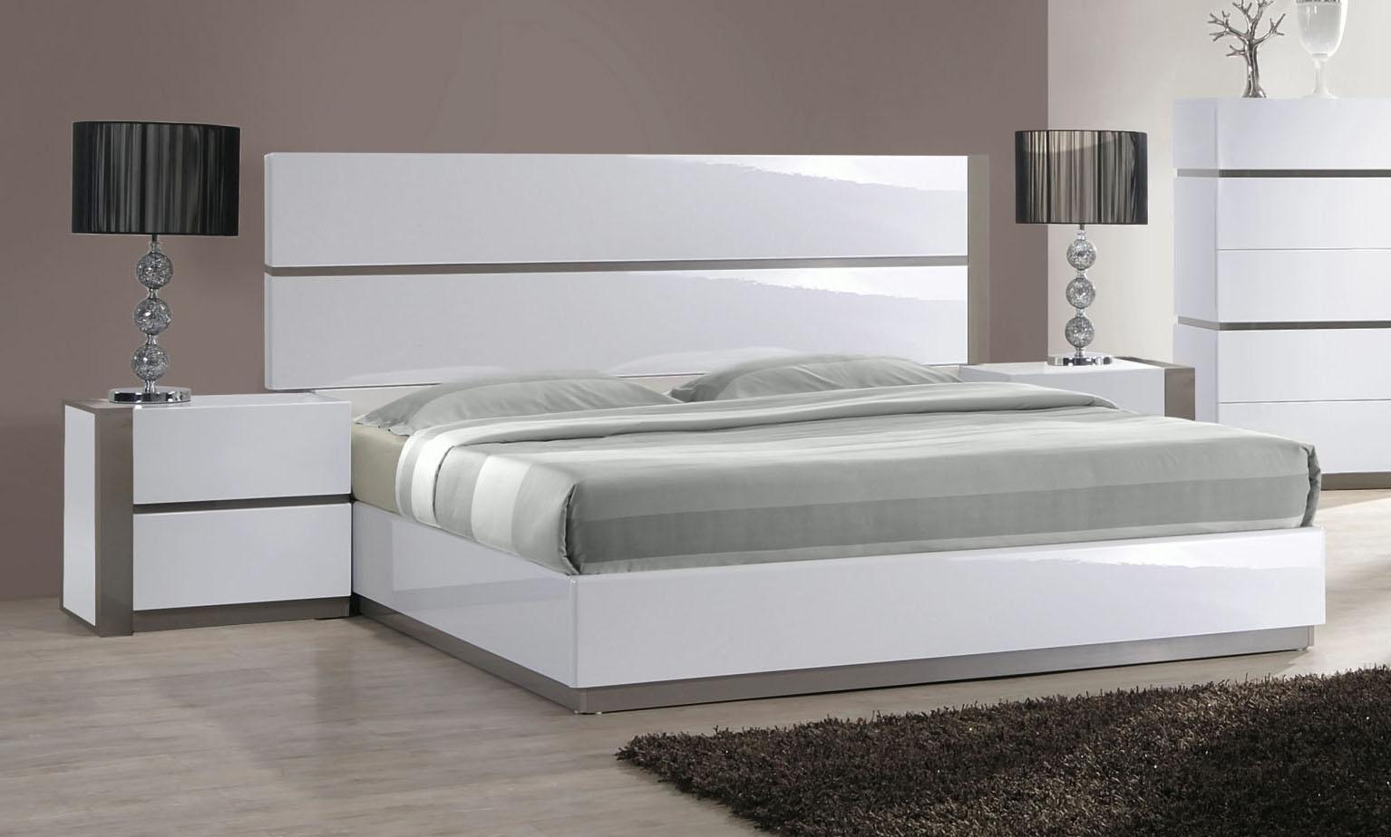 Elegant Wood Luxury Platform Bed Austin Texas Chmani