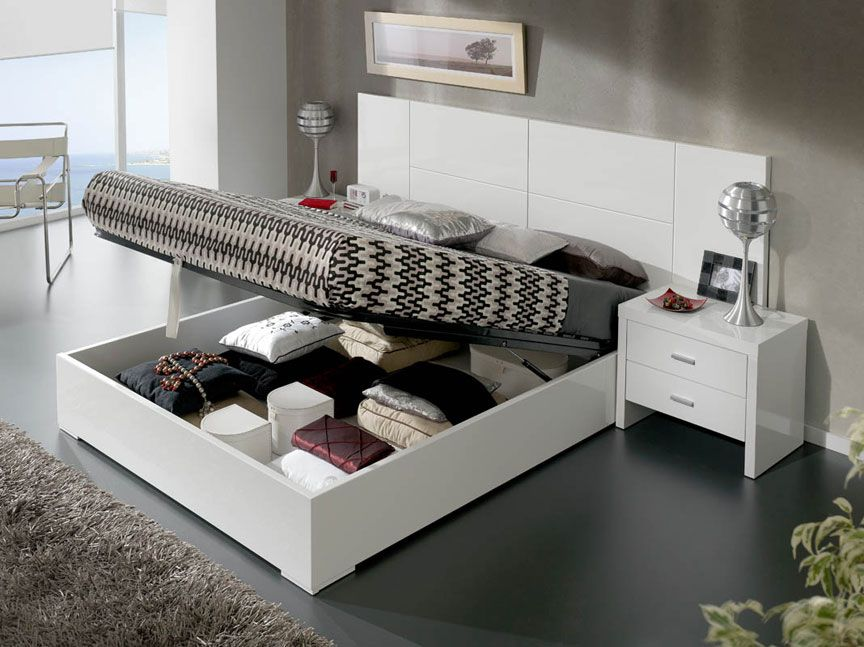 Modern Platform Bedroom Sets lacquered made in spain quality modern platform bed with extra