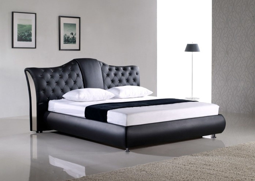 Modern luxury and italian beds lift up platform storage beds for Contemporary beds