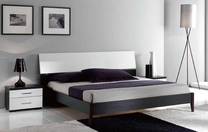 Modern Platform Beds Master Bedroom Furniture Elegant Wood Luxury