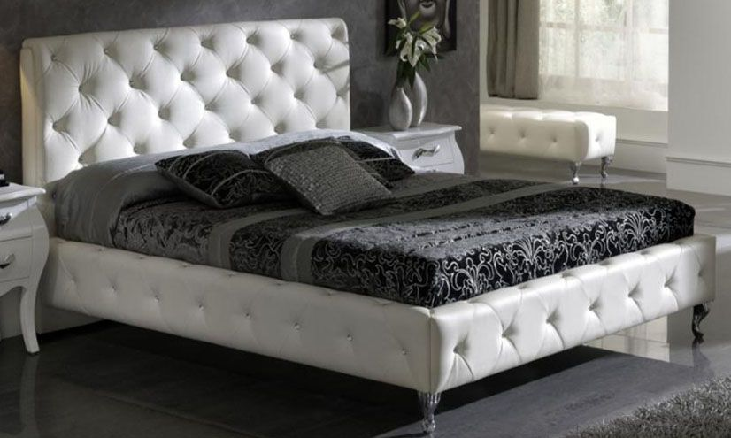 Exclusive leather luxury platform bed aurora colorado esfnelly for Exclusive beds