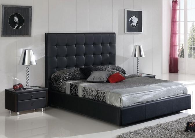Made in spain leather luxury platform bed with extra storage chesapeake virginia esfpenelopem73 - Luxury platform beds ...