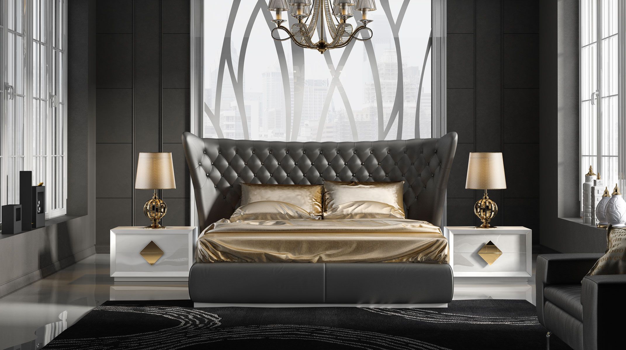 Made In Spain Quality Luxury Platform Bed San Diego