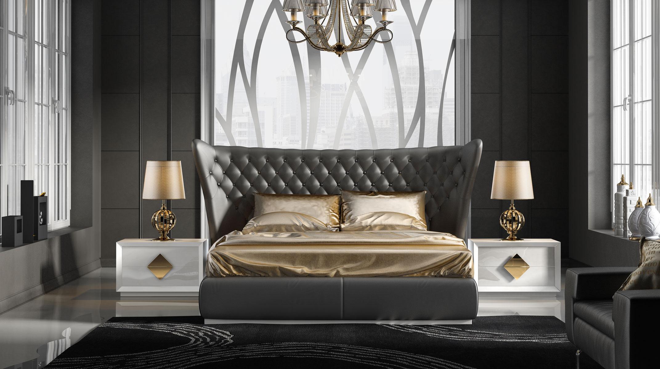 Designer Luxury Bedroom: Made In Spain Quality Luxury Platform Bed San Diego