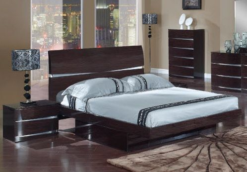 Exclusive wood luxury platform bed with drawers amarillo texas gfaurora - Luxury platform beds ...