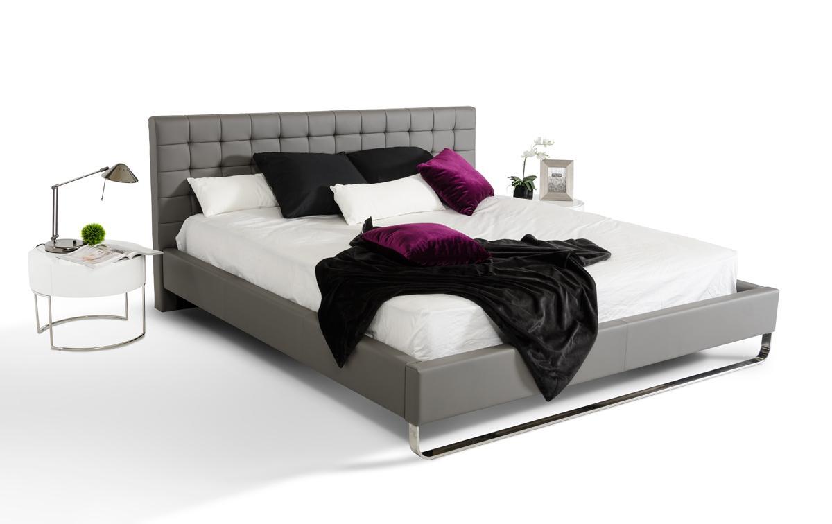 elegant leather modern platform bed tulsa oklahoma vgem With bed frames tulsa