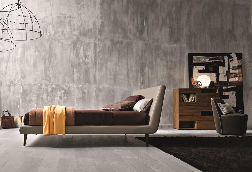 Made in italy leather luxury platform bed santa ana california j m metropolitan - Luxury platform beds ...