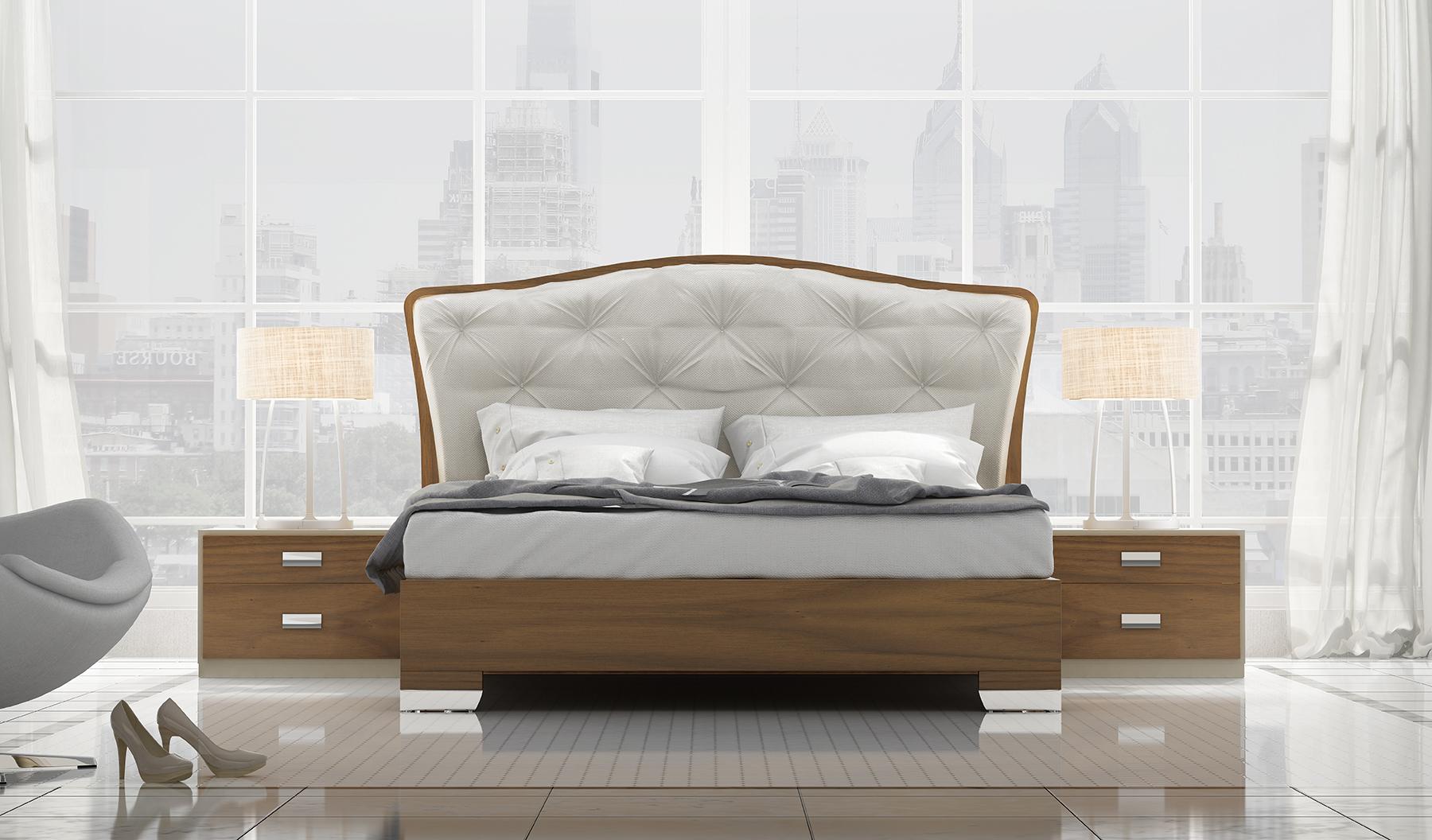 Picture of: Unique Wood Modern Platform Bed Portland Oregon Fenicia Composition 8