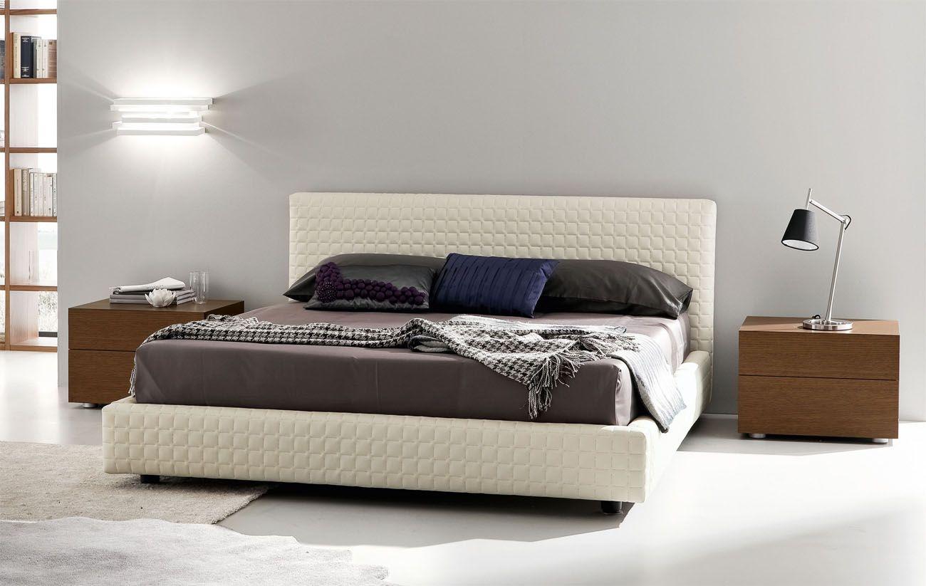 Modern italian platform beds luxury leather and storage beds italian furniture design - Luxury platform beds ...