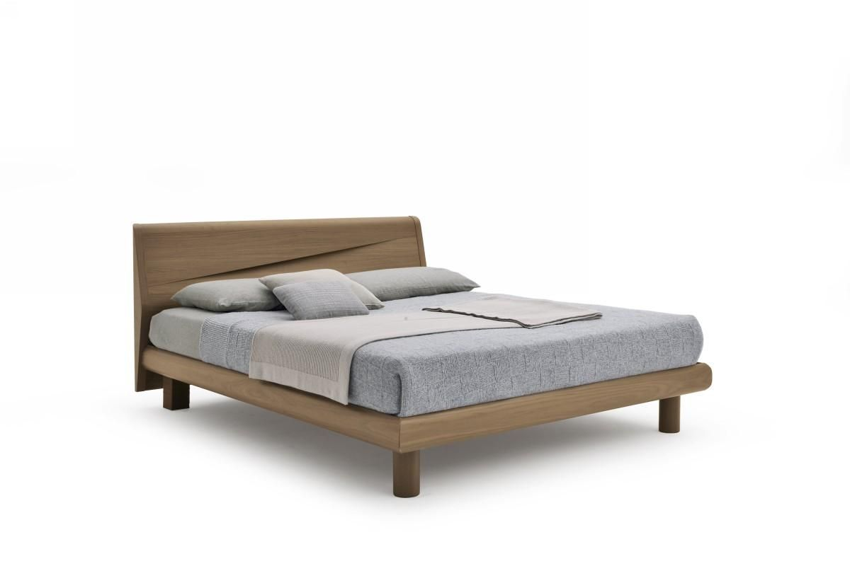Made in italy wood luxury platform bed with extra storage Wood platform bed