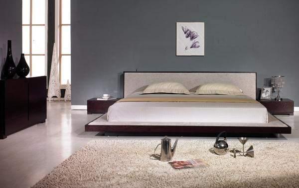 Modern Platform Beds Master Bedroom Furniture