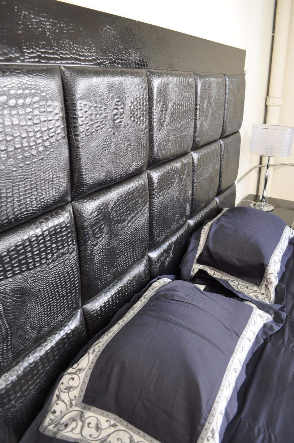 Size. Elegant Leather High End Platform Bed Philadelphia Pennsylvania VGLAM