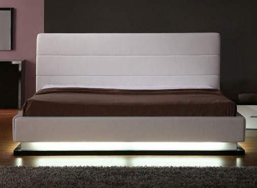 Exquisite leather luxury platform bed miami florida vinfi - Luxury platform beds ...