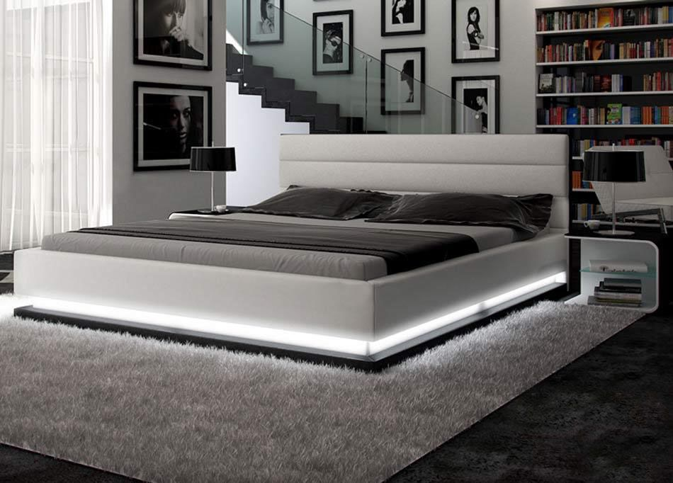 Exquisite Leather Luxury Platform Bed Miami Florida Vinfi
