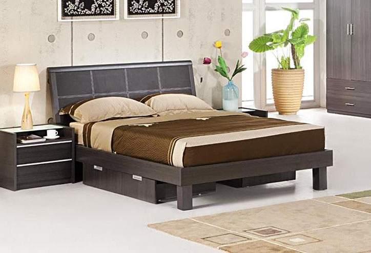 Italian quality wood modern platform bed austin texas vken
