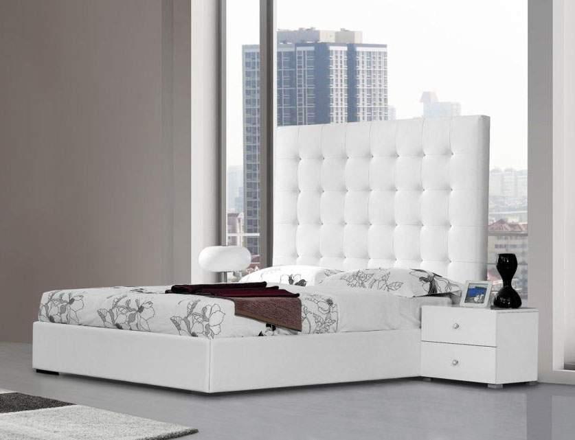 Elegant Leather Luxury Platform Bed El Paso Texas VLYR