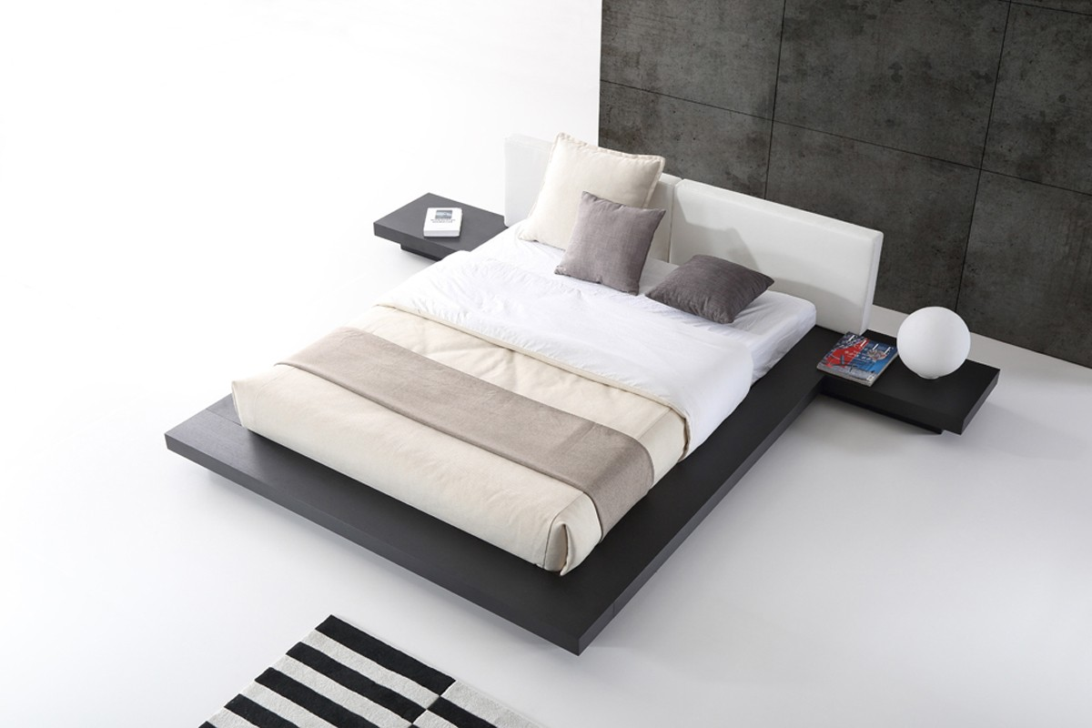 Unique Leather Elite Platform Bed Elizabeth New Jersey Vopal