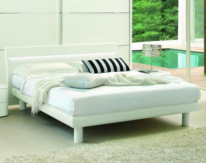 Made in italy wood luxury platform bed aurora illinois vsmabasic - Luxury platform beds ...