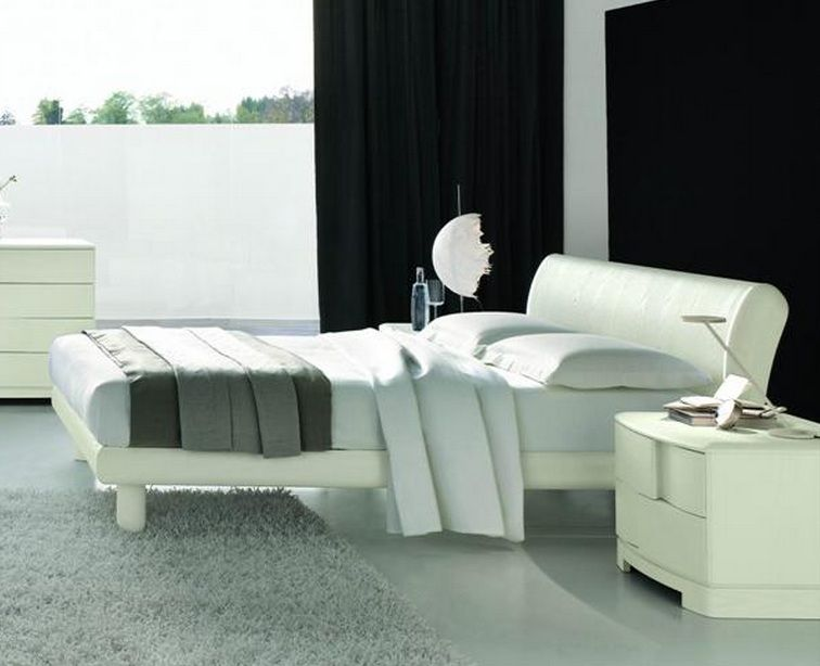 Modern Wooden Beds With Storage : Made in Italy Wood Modern Platform Bed with Extra Storage Moreno ...