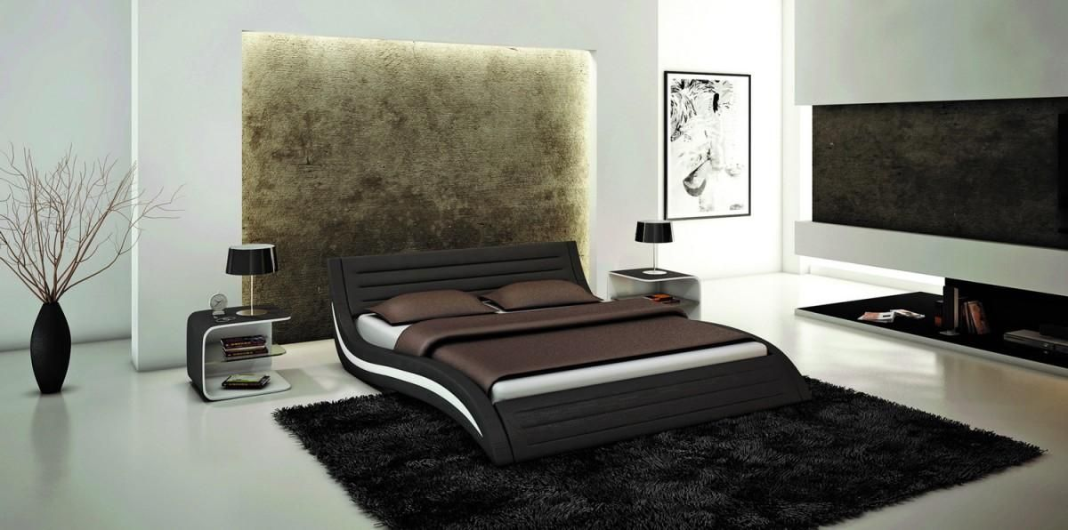 Exclusive Leather Elite Platform Bed Denver Colorado V213