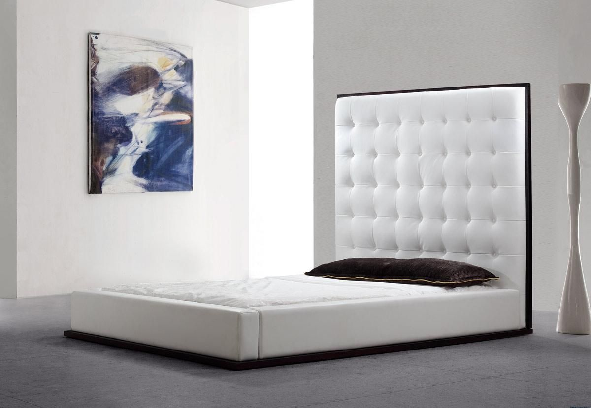 Bed headboard leather - Add And Save