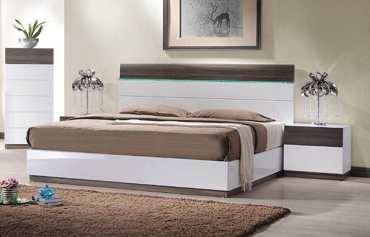 Modern Platform Bed with Storage 1200 x 769
