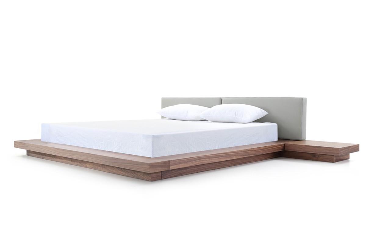 overnice leather high end platform bed atlanta georgia vopa. Black Bedroom Furniture Sets. Home Design Ideas