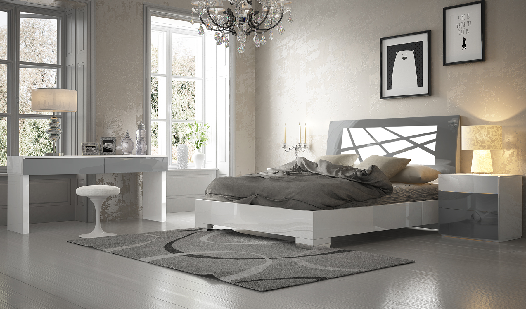 Made In Spain Quality High End Platform Bed Austin Texas Fenicia