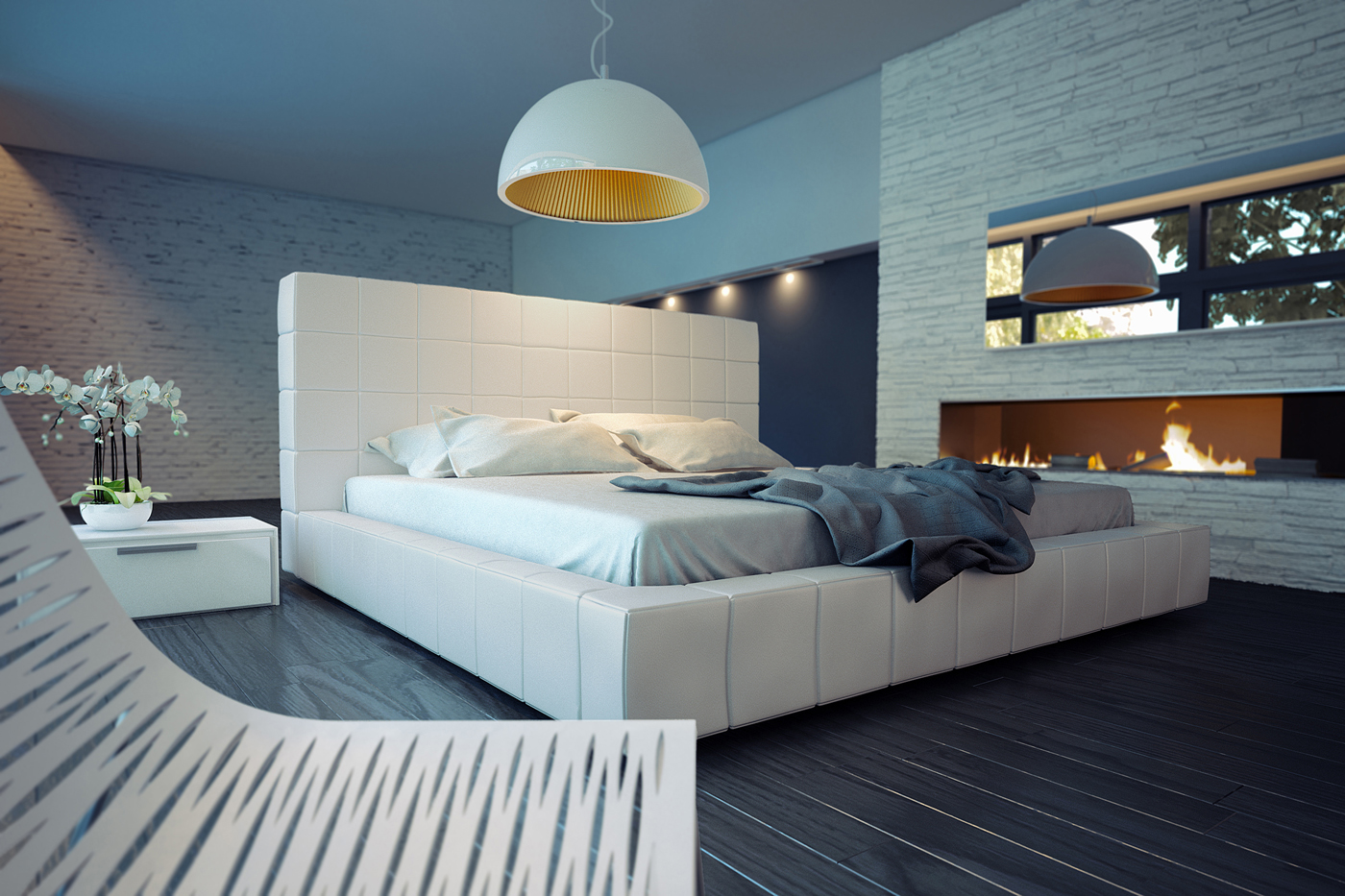 Exotic Leather Elite Platform Bed Tucson Arizona MLTHO