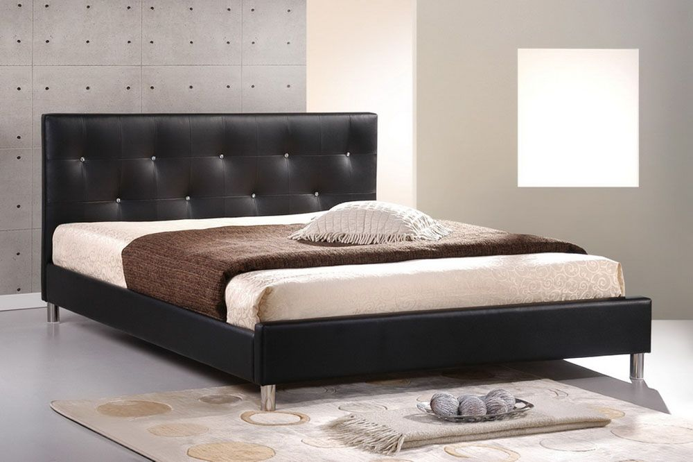 Black Queen Size Bed Frame 1000 x 666