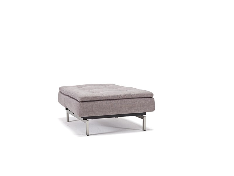 Grey Contemporary Fabric Upholstered Sofa Bed with Optional Chair - Click Image to Close