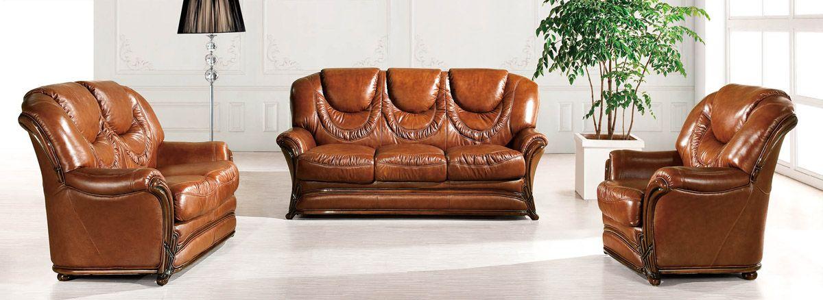 Brown Classic Italian Leather Sofa Set Prime Classic Design, Modern Italian  And Luxury Furniture