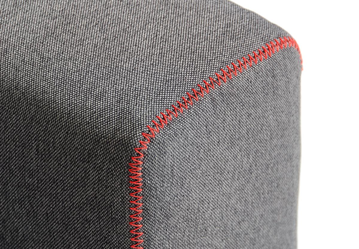 Grey Fabric Contemporary Convertible Sofa Bed Lincoln Nebraska VBRO