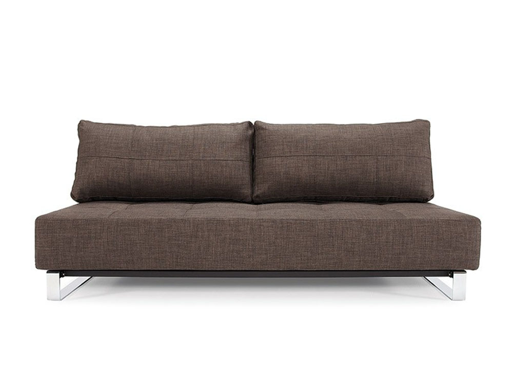 Comfy Dark Brown Contemporary Tufted Fabric Sofa Bed Plano Texas Innsupr