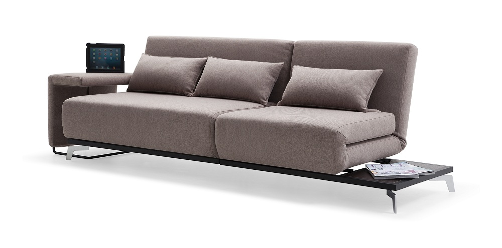 Truly Functional Fabric Convertible Pull Out Sofa Bed With